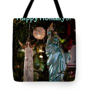 Happy Holidays To All My Friends On Fine Art America Tote Bag