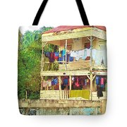 Happy Hour Washday Belize Tote Bag