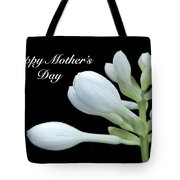 Happy Mothers Day Hosta Tote Bag