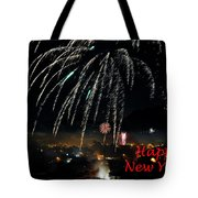 Happy New Year Card Tote Bag