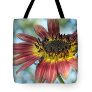 Happy Red Sunflower Tote Bag