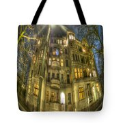 Happy Round House Tote Bag