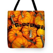 Happy Thanksgiving Art Tote Bag