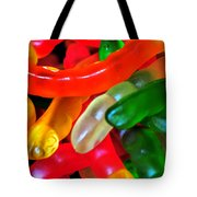 Happy Worms Tote Bag