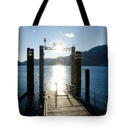 Harbor And Sun Tote Bag