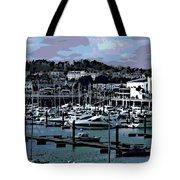 Harbor At Torquay Tote Bag