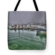 Harbor Dawn Tote Bag