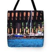 Harbor Docks Tote Bag