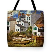 Harbor Houses Tote Bag