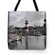 Harbor Lighthouse Tote Bag