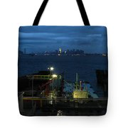 Harbor Morn Tote Bag