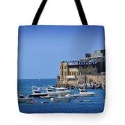 Harbor - North Coast Of Spain Tote Bag