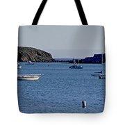 Harbor On The California Coast Tote Bag