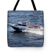 Harbor Police Tote Bag