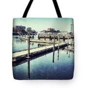 Harbor Time Tote Bag