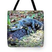 Hard Day In The Swamp - Digital Art Tote Bag