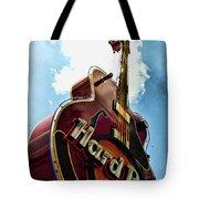 Hard Rock Guitar Tote Bag