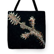 Harlequin Ghost Pipefish With Fins Tote Bag