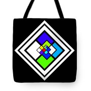 Harlequin Tile Tote Bag