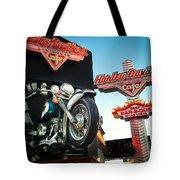 Harley Davidson Cafe Las Vegas Tote Bag