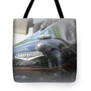 Harley Davidson Emblem Tote Bag