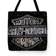 Harley Sign Tote Bag