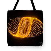 Harmonograph Phase Pattern Tote Bag