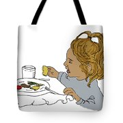 Harper Eating Tote Bag