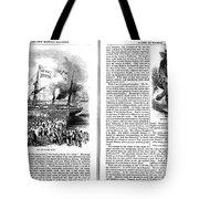 Harpers Magazine, 1861 Tote Bag