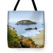 Harris Beach Tote Bag