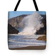 Harris Beach Sprayed Tote Bag