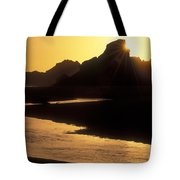 Harris Beach Sunset Tote Bag