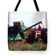 Harvesting Corn Tote Bag