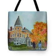 Haskell Free Library In Autumn Tote Bag