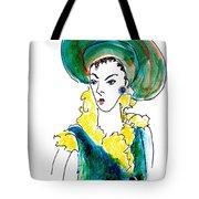Hat Lady 16 Tote Bag