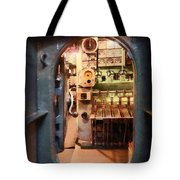 Hatch In Submarine Tote Bag