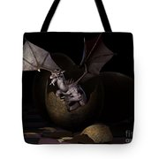 Hatching Dragons Tote Bag