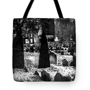 Haunted Cemetery Tote Bag
