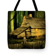 Haunted Shack Tote Bag
