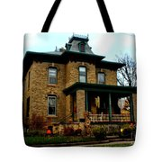 Haunted Victorian Tote Bag