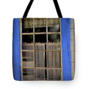 Haunted Window Tote Bag