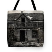 Haunting East Tote Bag by Empty Wall