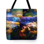 Have I Died And Gone Somewhere I Don't Believe In? Tote Bag
