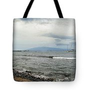 Hawaiian Coastline Tote Bag