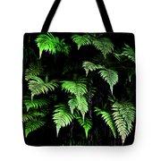 Hawaiian Fern Tote Bag