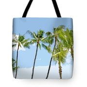 Hawaiian Palm Trees Tote Bag
