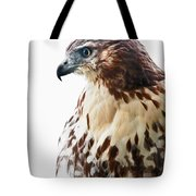 Hawk Majesty Tote Bag