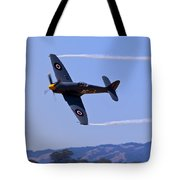 Hawker Sea Fury Tote Bag