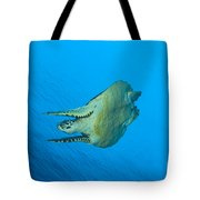 Hawksbill Turtle In The Diving Tote Bag