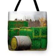 Hay Tractor Tote Bag